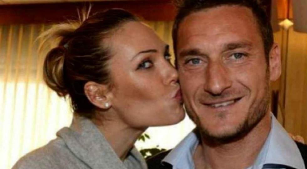 Ilary Blasi dan Francesco Totti