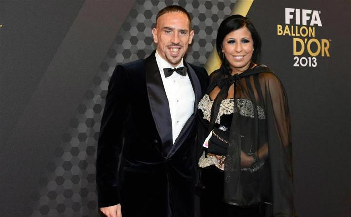Franck Ribery dan Wahiba