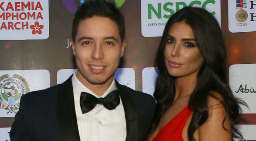 Samir Nasri dan Anara Atanes